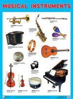 Musical Instruments. Плакат