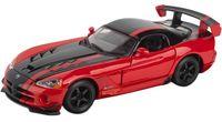 "Модель машины ""Bburago. Dodge Viper SRT 10 ACR"" (масштаб: 1/24)"