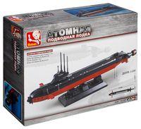 """Конструктор """"ВМФ. Атомная подводная лодка"""" (193 детали)"""