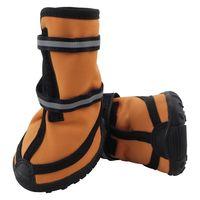 Ботинки (5,5х5х6,5 см; рыжие)
