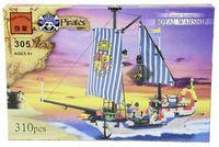 """Конструктор """"Pirates. Королевский корабль"""" (310 деталей)"""