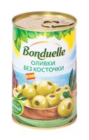 """Оливки зеленые """"Bonduelle. Без косточки"""" (300 г)"""