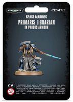 Warhammer 40.000. Space Marines. Primaris Librarian in Phobos Armour (48-67)