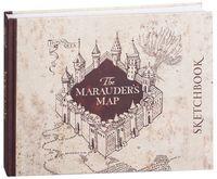 """Скетчбук """"Гарри Поттер. Карта мародеров"""" (240x200 мм)"""
