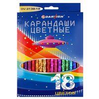 "Набор карандашей цветных ""Darvish"" (18 цветов; арт. DV-3138-6)"