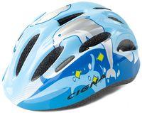 """Шлем велосипедный детский """"WT-024"""" (чёрно-голубой)"""