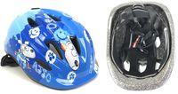 Шлем велосипедный детский (M; сине-белый; арт. 09-1M)