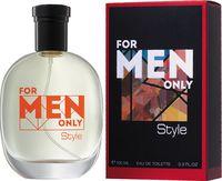 """Туалетная вода для мужчин """"For Men only. Style"""" (100 мл)"""