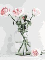 "Картина по номерам ""Роза Флорибунда"" (300х400 мм)"