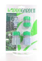 Набор насадок для поливочного шланга пластмассовых (4 шт., 6 см)