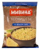 """Вермишель быстрого приготовления """"Мивина. Со вкусом сыра"""" (50 г)"""
