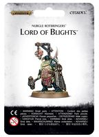 Warhammer Age of Sigmar. Nurgle Rotbringers. Lord of Blights (83-49)