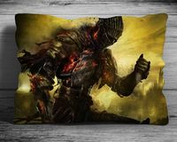 """Подушка """"Dark Souls"""" (арт. 1; 28х38 см)"""