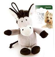 """Игрушка для собак """"Ослик"""" (10 см)"""