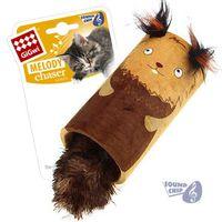 """Игрушка для кошек со звуковым чипом """"Белка-цилиндр"""" (22 см)"""
