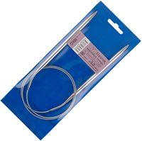 Спицы для вязания круговые (металл; 6.0 мм; с металлической леской; арт. MKG)