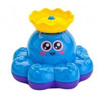 """Игрушка для купания """"Фонтан-Осьминожка"""" (голубой)"""