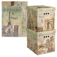 """Набор коробок складных """"Paris"""" (2 шт.; 28х38х31,5 см)"""