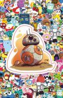 """Глянцевая наклейка """"BB-8"""" (арт. 45)"""