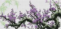 "Вышивка крестом ""Весенний цвет"" (310x640 мм)"