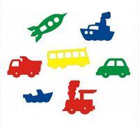 """Набор игрушек для купания """"Мир транспорта"""" (7 шт)"""