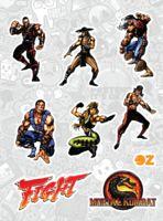 "Набор наклеек ""Mortal Kombat"""
