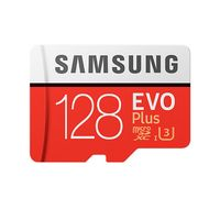 Карта памяти Samsung EVO plus microSDXC 128GB (MB-MC128GA/RU)