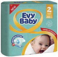 "Подгузники ""Evy Baby Mini 2"" (3-6 кг; 80 шт.)"