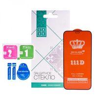 Защитное стекло Case 111D для iPhone 12 Pro Max (черный)