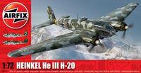 """Бомбардировщик """"Heinkel He III H-20"""" (масштаб: 1/72)"""