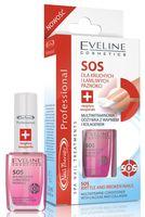 """Средство для укрепления ногтей """"SOS для мягких, тонких и слоящихся ногтей"""" тон: прозрачный"""