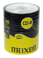 Диск CD-R 700Mb 52x Maxell Bulk 100