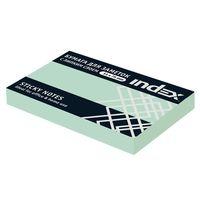 Бумага для заметок (светло-зеленая; 51х75 мм)