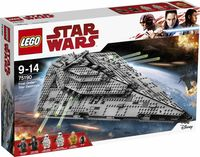 """LEGO Star Wars """"Звездный разрушитель Первого Ордена"""""""
