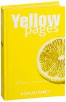 """Блокнот """"Yellow pages"""" (125х200 мм)"""