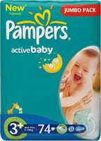 "���������� ""Pampers Active Baby Midi Plus"" (5-10 ��, 74 ��.)"