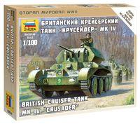 """Британский крейсерский танк """"Крусейдер"""" Mk.IV (масштаб: 1/100)"""