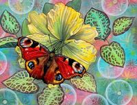 "Алмазная вышивка-мозаика ""Бабочка"""