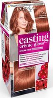 "Краска-уход для волос ""Casting Creme Gloss"" (тон: 724, карамель)"