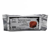 Глина для лепки (красная; 500 гр)