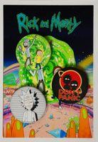"""Набор значков маленьких """"Рик и Морти"""" (арт. 741)"""