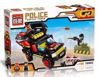 """Конструктор """"Police. Внедорожник преступника"""" (240 деталей)"""