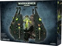 "Набор миниатюр ""Warhammer 40.000. Necrons Tesseract Vault/Obelisk"" (49-19)"