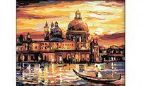 """Картина по номерам """"Вечерняя Венеция"""" (400x500 мм)"""
