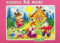 "Пазл maxi ""Теремок"" (24 элемента)"