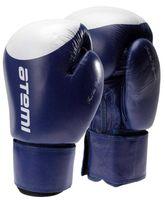 Перчатки боксёрские LTB19009 (10 унций; сине-белые/мишень)