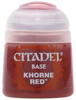 """Краска акриловая """"Citadel Base"""" (khorne red; 12 мл)"""