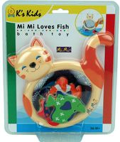 "Игрушка для купания на присоске ""Кошка-сачок Мими"""