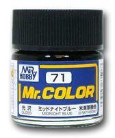 Краска Mr. Color (midnight, C71)