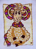 """Вышивка крестом """"Модный шарф"""""""